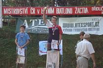 Na Mistrovství ČR v letním biatlonu žactva si velmi dobře vedl Jan Tkadlec z Vítanova na Hlinecku.