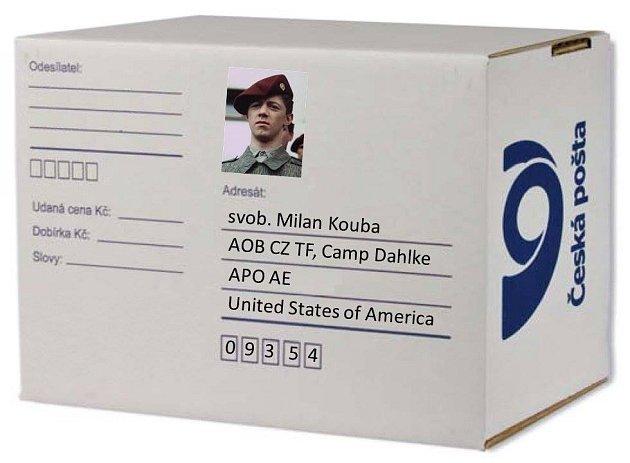 I takhle může vypadat balíček pro vojáky v Afghánistánu