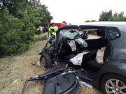 Ve čtvrtek 23. července  došlo okolo 14té hodiny na silnici I/37 mezi obcemi Chrudim a Slatiňany k vážné dopravní nehodě.