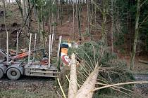 Kamion je poničený, škoda přesahuje jeden a půl milionu korun.