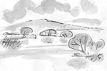 Hladinu Hamerské přehrady spatříme jen občas