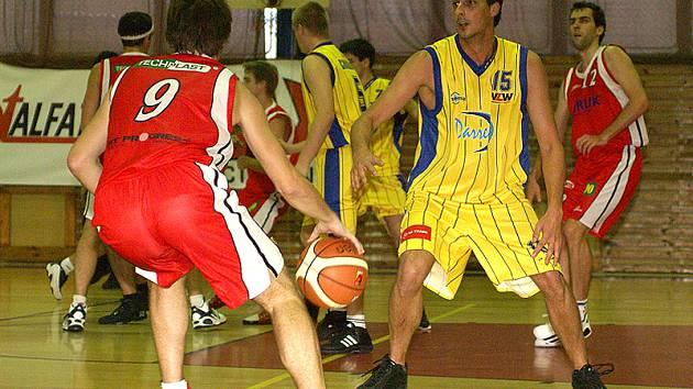 Basketbalisté TJ Sokol Darren Chrudim.