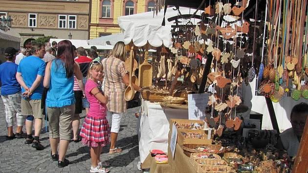 Na Resselově náměstí v Chrudimi se konaly tradiční zářijové Obžínky.