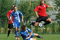Přípravný fotbalový zápas Zábřeh - MFK Chrudim 0:1