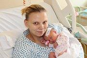 ELIŠKA DUŠIČKOVÁ (2,9 kg a 48 cm) – toto jméno vybrala 14.9. v 8:39 pro svou prvorozenou dceru Eliška Dušková zMladé Boleslavi.