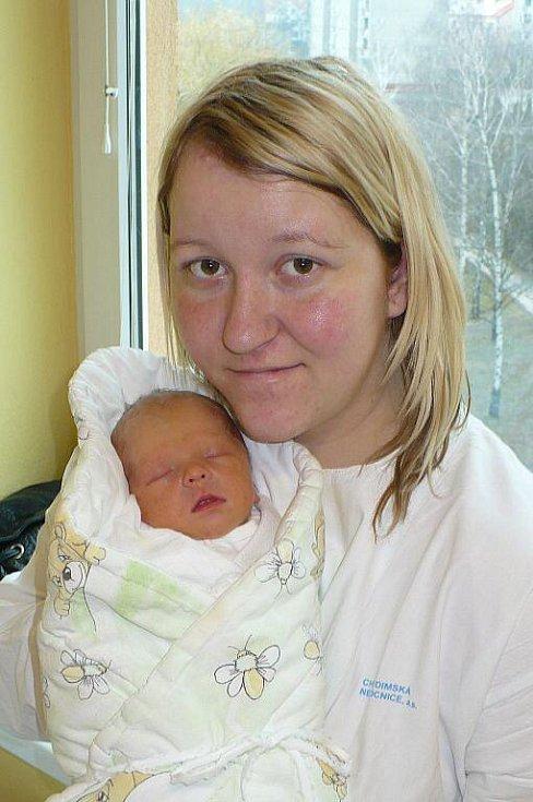 NELA TAMCHYNOVÁ. Monika a Lukáš ze Dřenic se stali rodiči prvně 14. února v 5:28, kdy společně na sále uvítali dcerku vážící 2,59 kilogramu a měřící 47 centimetrů.
