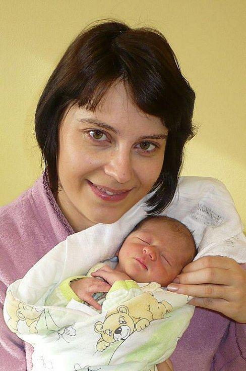 TOBIÁŠ KŘIVSKÝ. Nový občánek Hlinska se narodil Veronice a Tomáši Křivských 18. února v 9:15. Bráška tříletého Filipa vážil 2,8 kilogramu a měřil 49 centimetrů.