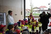 Den otevřených dveří na požární stanici v Chrudimi.
