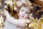 Chrám v Luži rozkvetl do nebývalé krásy.