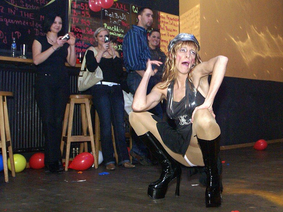 Oslavy posledního dne roku 2008 v Chrudimi.
