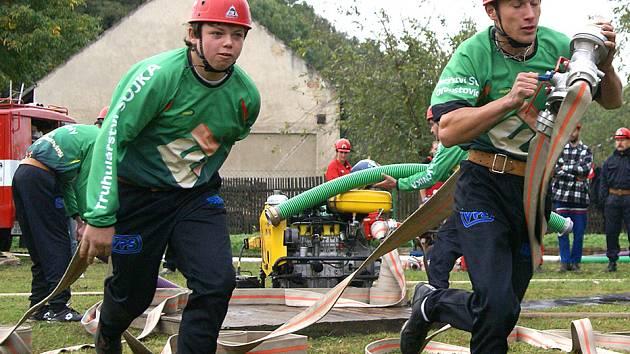 Poslední závod hasičské ligy okresu Chrudim hostily Morašice.