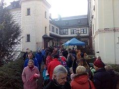 Rekordní návštěvnost na zámku Slatiňany