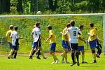 Z divizního fotbalového utkání AFK Chrudim – FC Hradec Králové B 1:2.