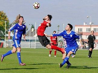 Česká fotbalová liga: MFK Chrudim - SK Viktorie Jirny.