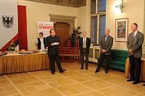 Setkání podnikatelů v chrudimském Muzeu pořádala Oblastní kancelář Krajské hospodářské komory Pardubického kraje.