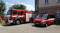 Oslavy 140 let hasičů v Ronově nad Doubravou
