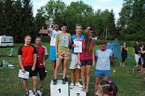 Na Seči se konal první ročník amatérského triatlonu Železňák.