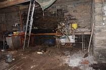 Majitel vysypal asi den 'vychladlý' popel do děravé popelnice, která byla umístěná v garáži. Popel se po několika hodinách znovu rozhořel a plameny se přenesly na uskladněné dřevo..