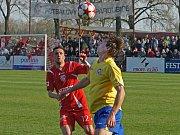 MFK Chrudim porazil v derby třetí ligy FK Pardubice na jeho hřišti 2:0.