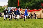 """Letní """"Kozojedské slavnosti aneb piráti z Kozojed"""" uspořádali členové spolku Kozojedské tvrze."""