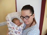 SÁRA KRČÁLOVÁ (3,35 kg a 50 cm) – toto jméno vybrali 21.1. v 16:27 pro svou prvorozenou dceru Patrik a Nikola z Pardubic.