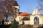 Kostel v Lažanech.