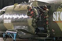 Na chrudimském letišti cvičili v tomto týdnu vojáci 4. brigády rychlého nasazení.