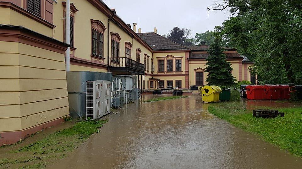 Odpolední situace v Heřmanově Městci
