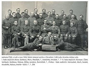 Legionáři v Luži.