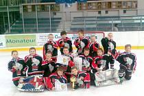 Hokejová přípravka HC Chrudim ročník 2005.