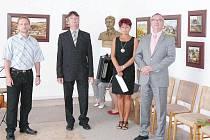 """Nad """"Kulturním rokem 2012"""" v Kameničkách převzal záštitu vicehejtman Roman Línek."""