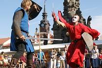 Resselovo náměstí patřilo Městským slavnostem a volbě královny.