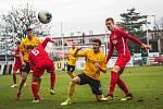 Fotbalové utkání mezi Chrudimí a Sokolovem, 9.11. 2019