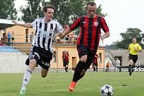 Fotbalisté MFK Chrudim zvítězili v 1. kole Poháru České pošty na půdě divizní Jiskry Ústí nad Orlicí 0:2.