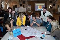 Setkání města s občany při akce Desatero problémů města.