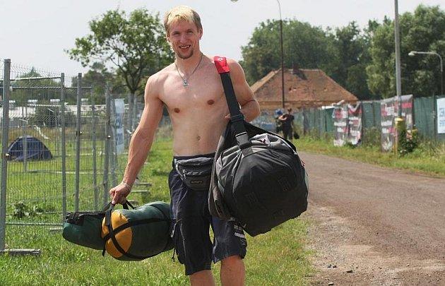 RFP 2009, pátek 3. července, účastníci přijíždějí