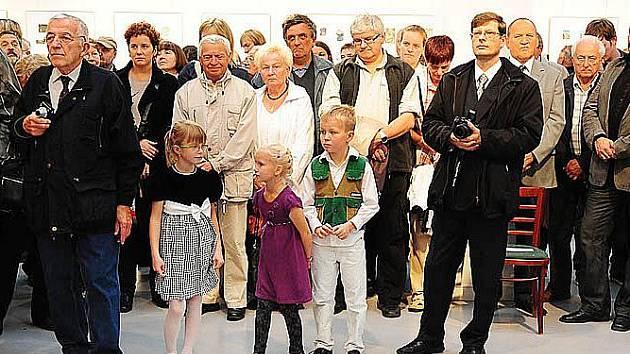 Slavnostní zahájení 13. ročníku Trienále českého ex libris Chrudim 2011.