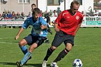 Radim Holub při ligovém zápase proti SK Roudnice n. Labem.