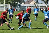 Ligový zápas MFK Chrudim - SK Roudnice n. Labem