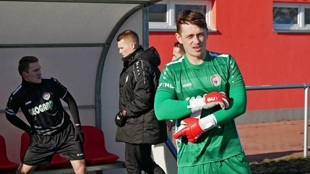 Brankář Lukáš Mrázek (na snímku) si chce proti Prostějovu zapsat již čtvrtou nulu v sezoně.