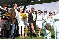 Svatba na křídlech.