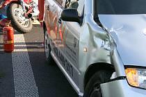 Ke zranění došlo při páteční nehodě na nechvalně známém úseku silnice u Medlešic.