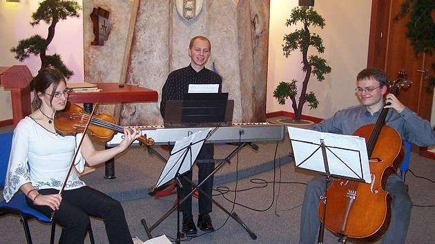 Vánoční koncert v Třemošnici.