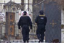 Protikorupční policie udělala razii v domě podnikatele Davida Berana na Podhůře.