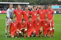 Radim Jehlička přispěl reprezentačnímu týmu U17 k letošní výhře 1:0 v Anglii.