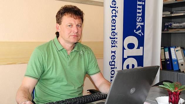 Výrobní ředitel a sládek hlineckého Pivovaru Rychtář Milan Morávek odpovídá při on-line rozhovoru čtenářům Deníku.