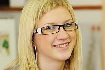 Studentka chrudimského gymnázia Denisa Raticová