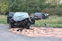 Řidič osobního vozu Mitsubishi měl zkraje října 2013 způsobit mezi Chrudimí a Vlčnovem dopravní nehodu, když nedal přednost vozidlu VW Golf, jehož řidička byla při srážce zraněna.