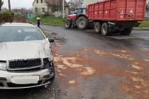 Nehoda v Rosicích - Brčekolech