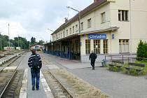 VLAKOVÉ nádraží v Chrudimi dozná velkých změn.